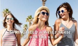 Un verano bajo el sol con la nueva colección Springfield by Wolfnoir