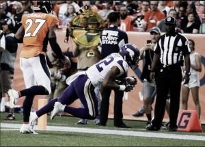 Vikings demuestra sus armas ante Denver