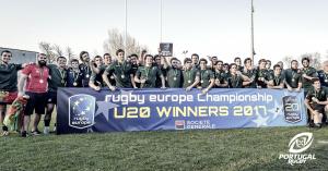 Portugal é campeão europeu de Rugby em sub-20