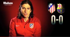 """Filipe Luis: """"El ambiente del Calderón me hace sentir futbolista de verdad"""""""