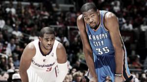 Los líderes de la temporada regular en la NBA