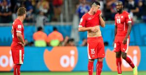 Suiza - Francia, puntuaciones de Suiza, jornada 2 grupo E