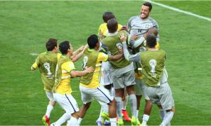Brasil - Chile, puntuaciones de Brasil, octavos de final del Mundial
