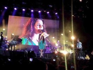 Lana del Rey deleita con 'Ultraviolence' en directo en Barcelona