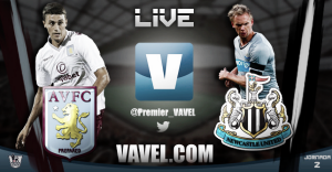 Aston Villa vs Newcastle United en vivo y en directo online