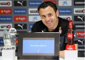 "Sergio González: ""La importancia de este partido vuelve a ser máxima"""