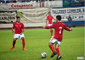 El Burgos CF puntúa en Nueva Condomina