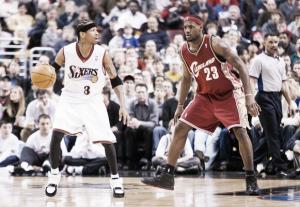 LeBron James supera a Allen Iverson en la lista de máximos anotadores