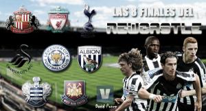 Las ocho finales del Newcastle