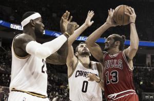 """Noah: """"Espero que nos enfrentemos a Cleveland en playoffs"""""""