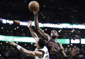 Repóker de los Cavaliers, farol de los Celtics