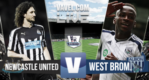 Resultado Newcastle vs West Bromwich Albion en Premier League 2015 (1-1)