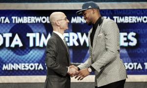 Towns, número uno del Draft 2015; Lakers sorprenden y eligen a Russell