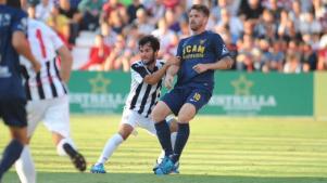 Pallarés da los tres puntos al UCAM Murcia en el derbi ante el FC Cartagena