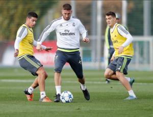 Bale, Benzema y Carvajal, novedades en el entrenamiento