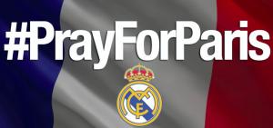 El Real Madrid se solidariza con las víctimas francesas
