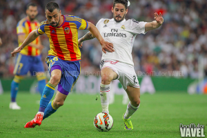 El Real Madrid deja escapar dos puntos de Mestalla y se aleja, aún más, del liderato