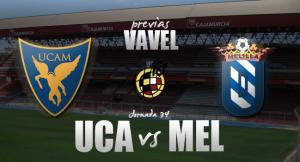 UCAM Murcia CF - UD Melilla: objetivos dispares en juego en La Condomina
