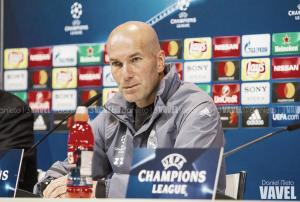 """Zidane: """"El Atlético cada año se supera, no podemos pensar en el pasado"""""""