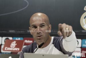 """Zidane: """"Nos quedan tres finales para ganar la Liga"""""""