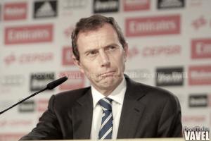 Butragueño: ''La circulación de la pelota era más difícil porque el campo estaba seco''