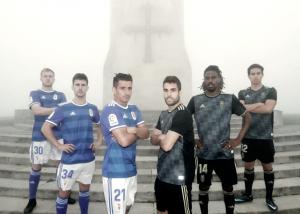 El Real Oviedo ya tiene equipaciones