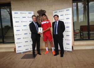 Marco Asensio, premiado como mejor jugador de octubre en Segunda