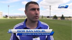 """Igor San Miguel: """"Estoy orgulloso de entrenar a este equipo"""""""