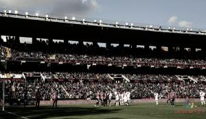La afición recibirá al Rayo en el último partido en Vallecas