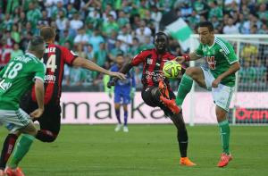 ASSE - OGC Nice : les aiglons prennent l'eau à Geoffroy Guichard