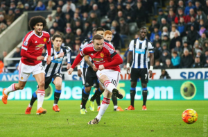 Les Red Devils lâchent des points à St James Park