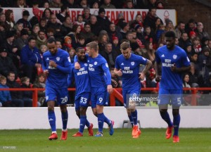 Nottingham Forest 0-2 Cardiff City: Bluebirds close the gap on Championship leaders
