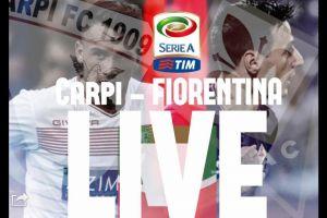 RisultatoCarpi - Fiorentina Serie A 2015/2016 (0-1)