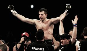 Froch downs Groves with thunderous right hook in Round 8
