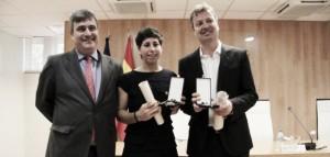 Carla Suárez, distinguida con la medalla de bronce al Real Órden del Mérito Deportivo