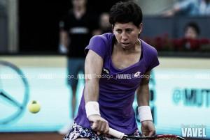 Carla Suárez se mete en los cuartos de final de Bucarest