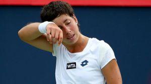 Carla Suárez Navarro sufre y no puede con Venus Williams en Montreal