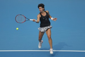 WTA Monterrey - Splende la Suarez, avanza la Kerber. Oggi semifinali