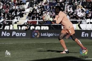 """Kameni: """"Quiero seguir en el Málaga"""""""