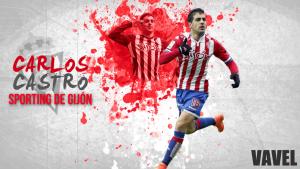 Sporting de Gijón 2015/2016: Carlos Castro, la ilusión rojiblanca
