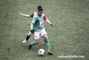 Carlos Rubén será baja en el Guijuelo por un mínimo de quince días