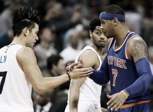 """Carmelo sobre Lin y los Nets: """"Estoy feliz por él"""""""