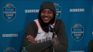 "NBA - Carmelo Anthony sottolinea: ""Power forward? Nessun problema"""