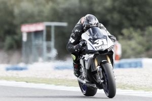 Carmelo Morales logra su primera pole con Yamaha en Portimao