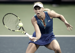 WTA Dubai: Caroline Wozniacki keeps her good form going against Viktorija Golubic