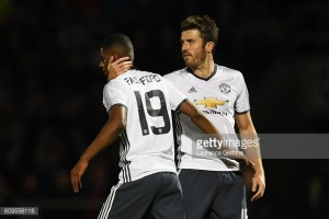 "Rashford has ""extra spring in his step,"" says impressed Carrick"