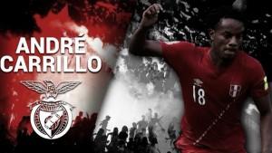 André Carrillo es el nuevo jugador del Benfica