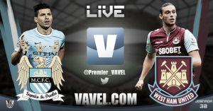 Manchester City vs West Ham United en vivo y en directo
