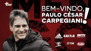 Fim da novela: Paulo César Carpegiani é o novo técnico do Flamengo