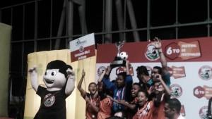 Cartagena Alfa Z de Ozono Campeón del 3° Festival Babyfútbol de Salón